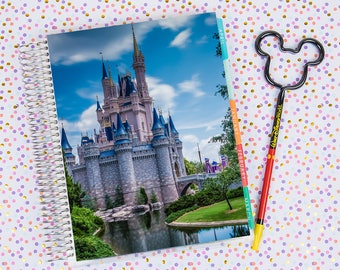 Disney World Erin Condren Life Planner Cover INSTANT DOWNLOAD - Cinderella Castle 8