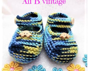 baby boy shoe baby shoe boys shoe hand knitted new baby baby footwear baby gift baby clothing blue shoes baby shower blue green navy shoe