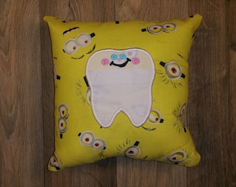 Minions Tooth Fairy Pillow