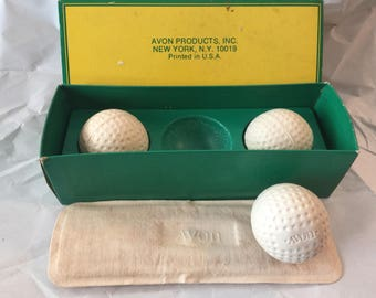 AVON Golf Ball Soaps