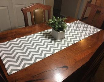 Wonderful Kitchen Table Runner   Grey Kitchen Table Runner   Dresser Runner   Gray Table  Runner
