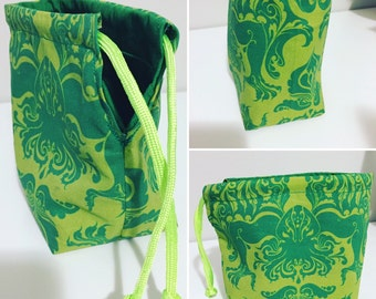 Green Cthulhu Lovecraft Chaos/Dice Bag