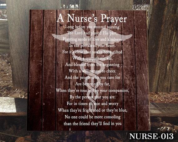 Nurse Sign For Occupational Gift Homerhetsy: Nurse Home Decor At Home Improvement Advice
