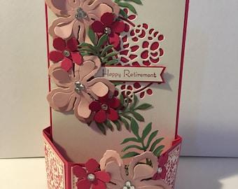 Hexagonal pop up card