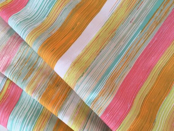 Art Gallery Sew Caroline Chalk and Paint Dripping Paint  1/2 yard