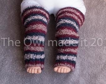 Toddler girl leg warmers Baby girl leg warmers Toddler Baby gift Knit leg warmers Wool leg warmers Kids fall Kidswear Winter warm UK seller
