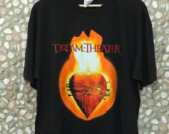 """Vintage 90s Dream Theater """"Image And Words"""" Tshirt"""