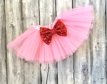 Valentines tutu, pink and red tutu, valentines outfit, first valentines, outfit, valentines, baby, newborn, toddler, girl, tutu, pink red