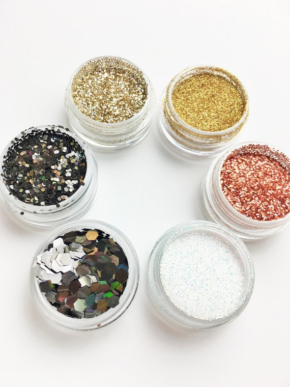 Egyptian Goddess Cosmetic Face Glitter Set