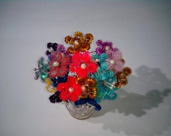 Flowers of sequins 25 pieces.