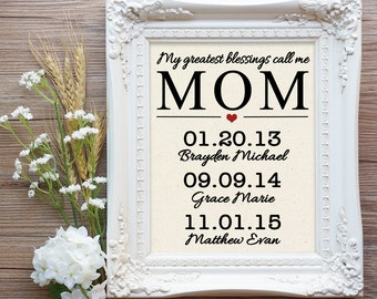 Mother's Day Gift for Mom, Wife Mother's day Gift, Gift for Mom from Daughter, Wife Gift, Mother of Bride Gift, Anniversary Gift, Mom Gift