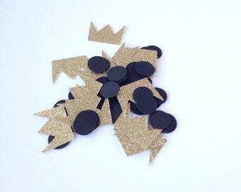 Wild one confetti - paper confetti - celebrate - glitter confetti - birthday party