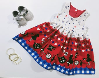 Girl Story Alice In Wonderland Tea Party Dress