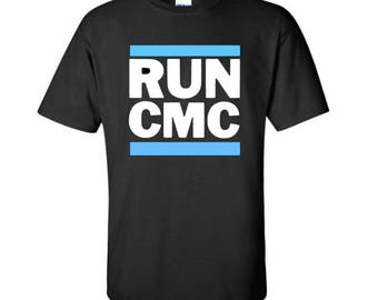 Carolina Panthers shirt ~ Christian McCaffrey is gonna be a Panther ~ RUN CMC