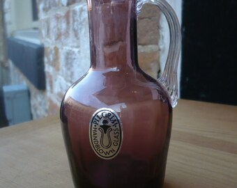 Pilgrim Handblown Glass, Purple