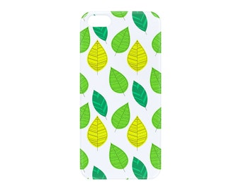 Green leaves, iPhone 6 case, iPhone 5 5S SE 5S, Samsung Galaxy, Edge, Plus, S5 S6 S7, mini, nature, foliage, iPhone cover, custom, SE, cover