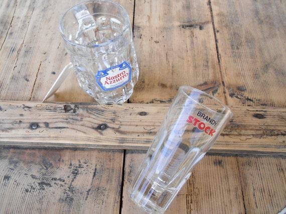 Glassware, beer glass, liquor glass-Vintage