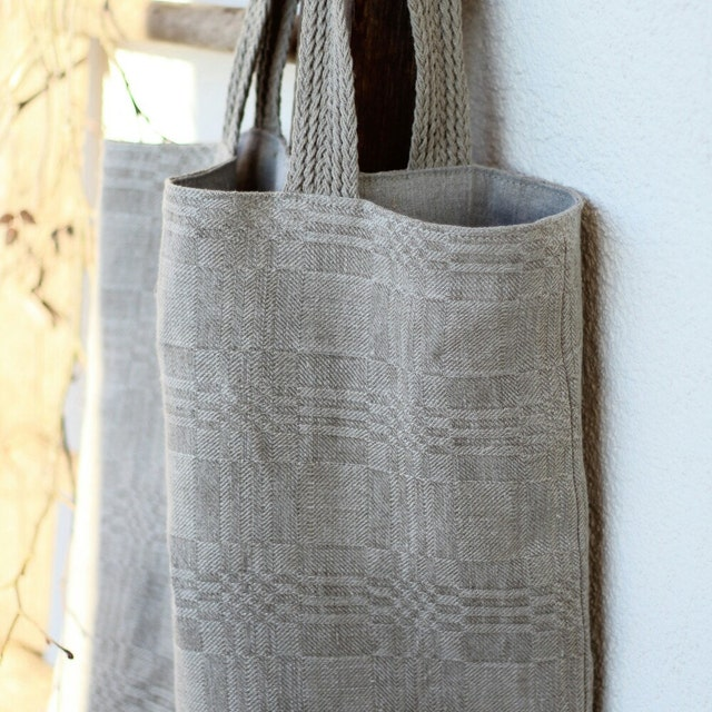 Linen Bags Home Textile Quilts Plant Dyed Scarves By Alabatis