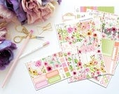 You are Free -- Horizontal Weekly Kit-- Matte Planner Stickers