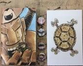 King size Mini & Sketch Book combo