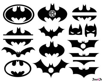 Batman svg,batman silhouette svg,batman mask svg,batman vector,batman clipart,Superhero Svg,Batman Monogram Svg,Batman svg monogram frame