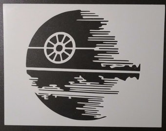 Star Wars Death Star Custom Stencil FAST FREE SHIPPING