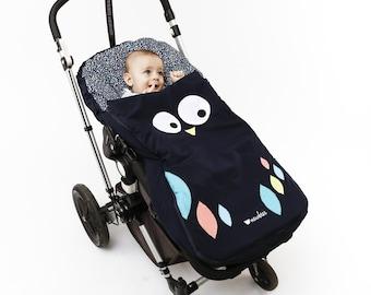 Owl stroller sack