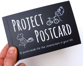 Project Postcard Booklet