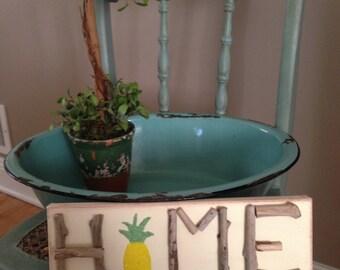 Home Driftwood Art, Driftwood Art, Driftwood Home Art, Wall Decor, Coastal Art, Pineapple Home Art, Pineapple Art, Pineapple