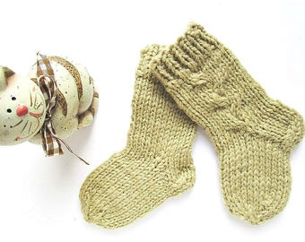 Baby Boys' Socks Baby knit socks Knitted baby socks Knitted baby booties Baby gifts for children Gift for baby boys socks 12 months