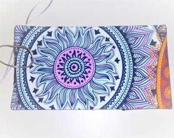 Lenormand Tarot Card Bag, Mandala Tarot Bag, Mandela Tarot Wrap, Tarot Card Wrap, Small Tarot Wrap, Small Tarot Card Bag, Mandala Tarot Bag