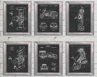 Harley Print Harley Davidson Wall Art Motorcycle Decor Harley Davidson  Artwork Mechanic Office Gift For