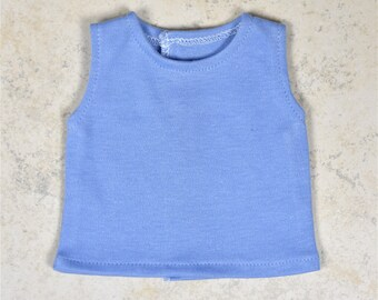 Basic Tank top 18 inch doll clothes Color Blue