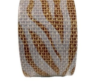 Zebra Print Duct tape, fashion duct tape, decorative tape, duct tape crafts, burlap duct tape, fashion duct tape