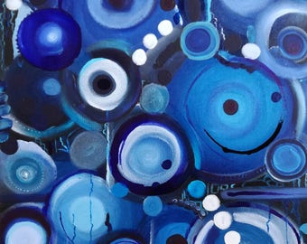 Bottling - canvas abstract