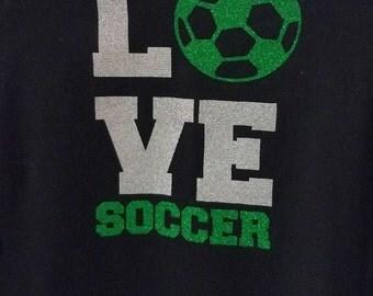 Love Soccer T-Shirt Gift for Soccer lover Sports shirt Soccer tshirt Soccer love shirt Soccer fan Soccer player gift Soccer player shirt
