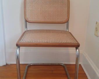 Mid Century Modern Marcel Breuer Cesca Chair