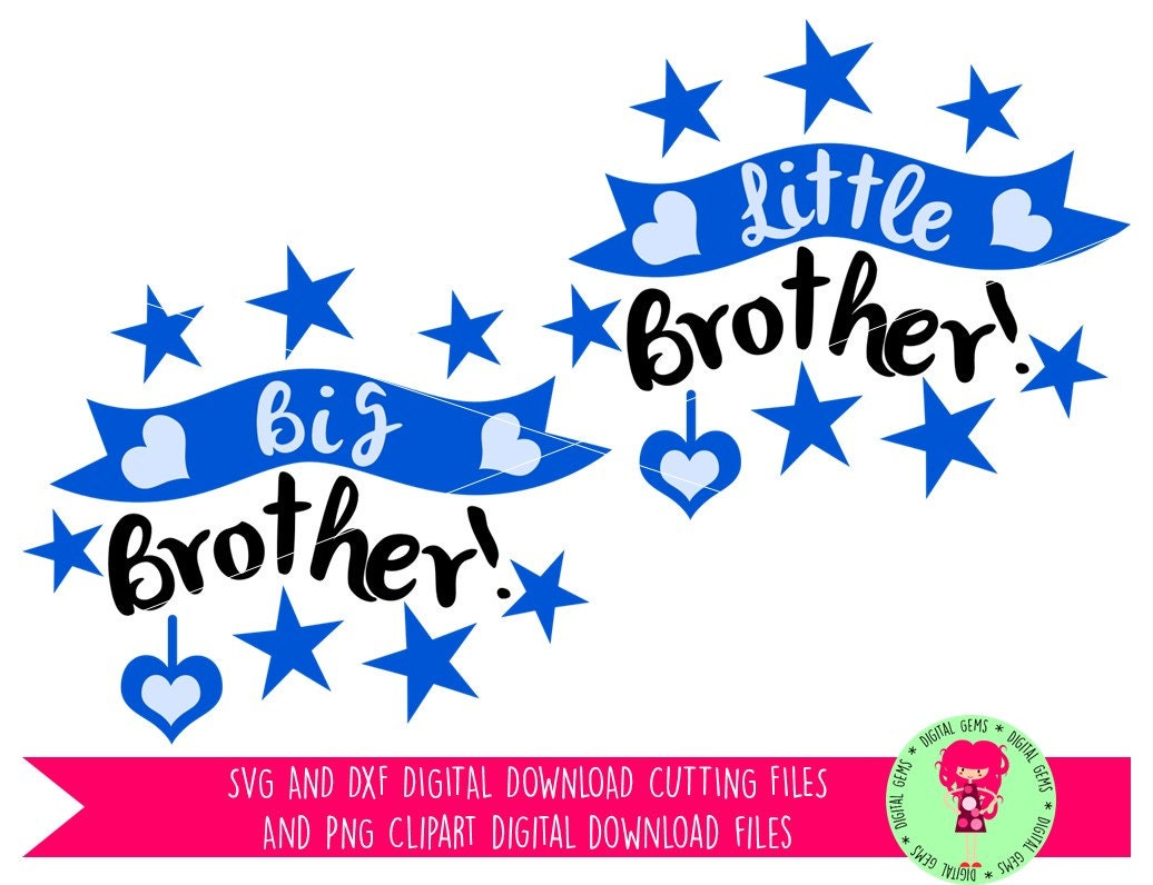 Download Big Brother, Little Brother SVG / DXF Layered Cutting ...