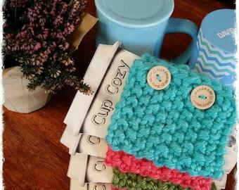 Handknit Cup Cozy