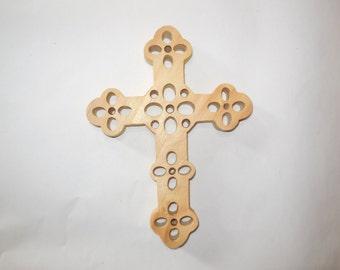 simple pine cross 8 x 6x .75