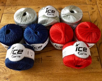 Ribbon Yarn, Dreamcatcher Yarn, Ice Yarn, Ice Yarns