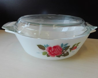 JAJ pyrex nr 513 cottage rose