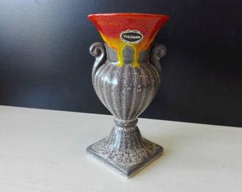 Vintage Dutch vulcana vase