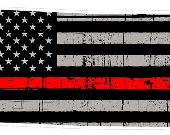 Kansas State (C17) Thin Red Line Vinyl Decal Sticker Car/Truck Laptop/Netbook Window