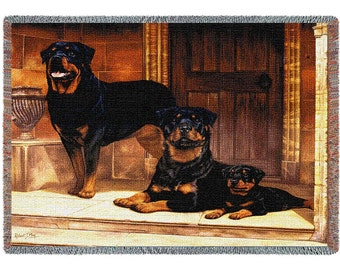 Rottweiler Blanket or Wall Hanging