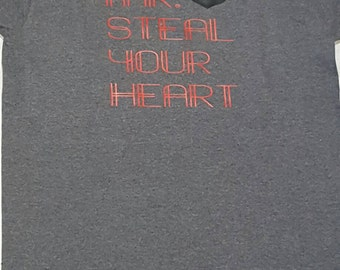 Mr. Steal your heart Tee-Available in Infant/Children/Adult Sizes