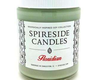 Floridian ® Candle - Spireside Candles - Disney Candles - 8 oz Jar