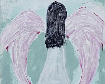 Fine Art Giclee Print, Angel Print, Abstract Art Print