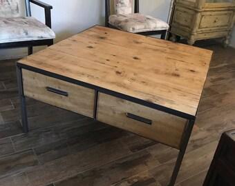 "Reclaimed coffee table ""vintage"""