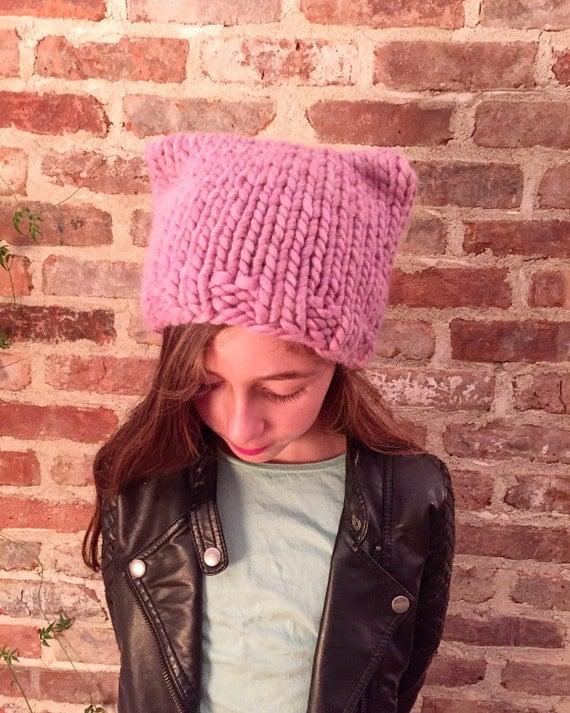 Square Cat Ear Hat